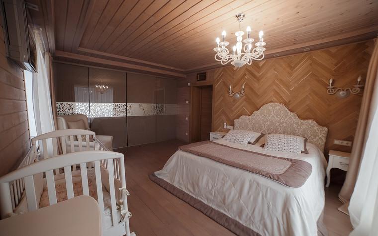 Загородный дом. спальня из проекта Экодом Танковое кольцо, фото №102979
