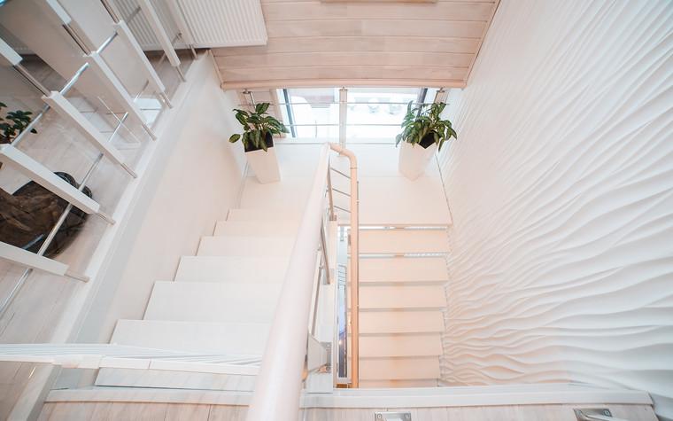 Загородный дом. холл из проекта Экодом Танковое кольцо, фото №102969