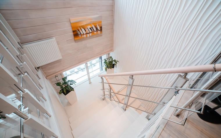 Загородный дом. холл из проекта Экодом Танковое кольцо, фото №102970