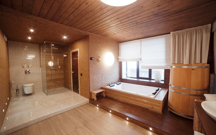 Загородный дом. ванная из проекта Экодом Танковое кольцо, фото №102972