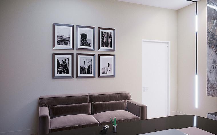Загородный дом. кабинет из проекта Загородный дом пос. Мирный, фото №103036