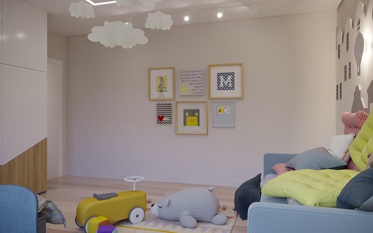 Загородный дом. детская из проекта Загородный дом пос. Мирный, фото №103053