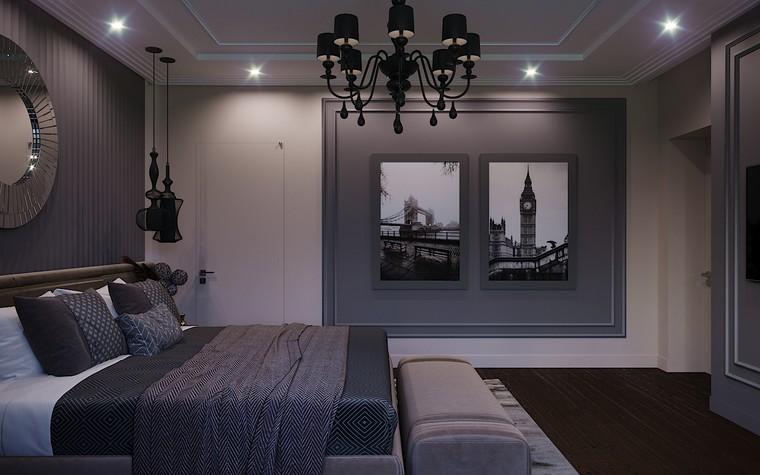 Загородный дом. спальня из проекта Загородный дом пос. Мирный, фото №103051