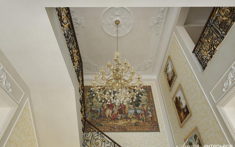 Загородный дом. холл из проекта Интерьер дома в КП Троицкий Парк Булатниково, фото №103244
