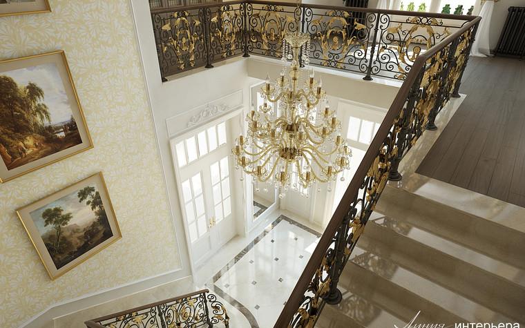 Загородный дом. холл из проекта Интерьер дома в КП Троицкий Парк Булатниково, фото №103245