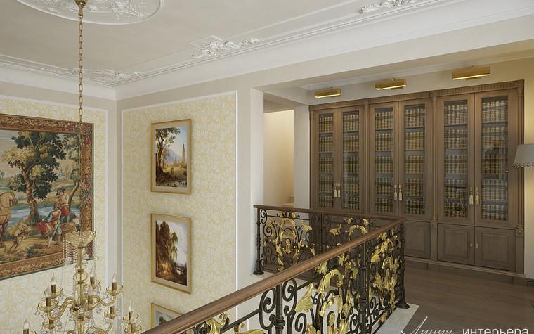 Загородный дом. холл из проекта Интерьер дома в КП Троицкий Парк Булатниково, фото №103246