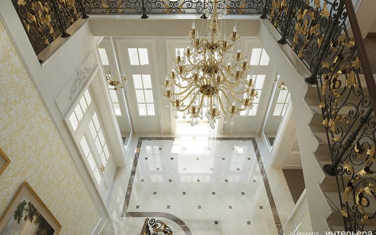 Загородный дом. холл из проекта Интерьер дома в КП Троицкий Парк Булатниково, фото №103248