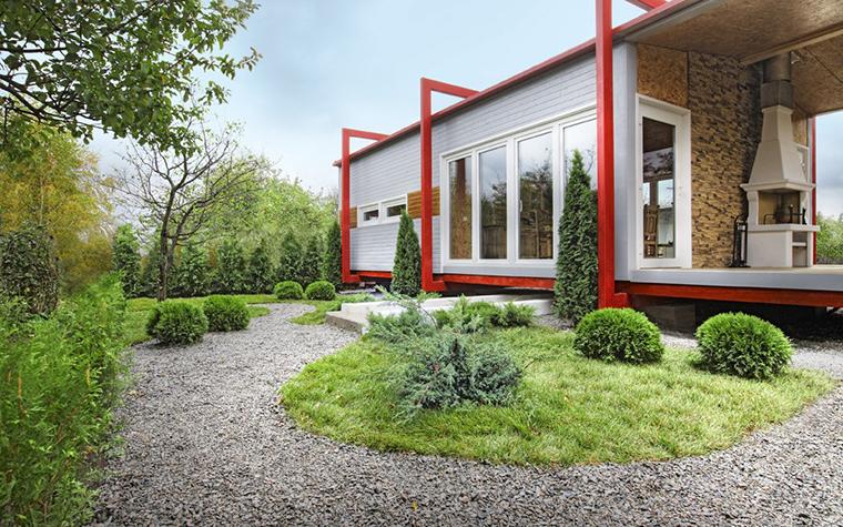Загородный дом. дорожка из проекта , фото №12101
