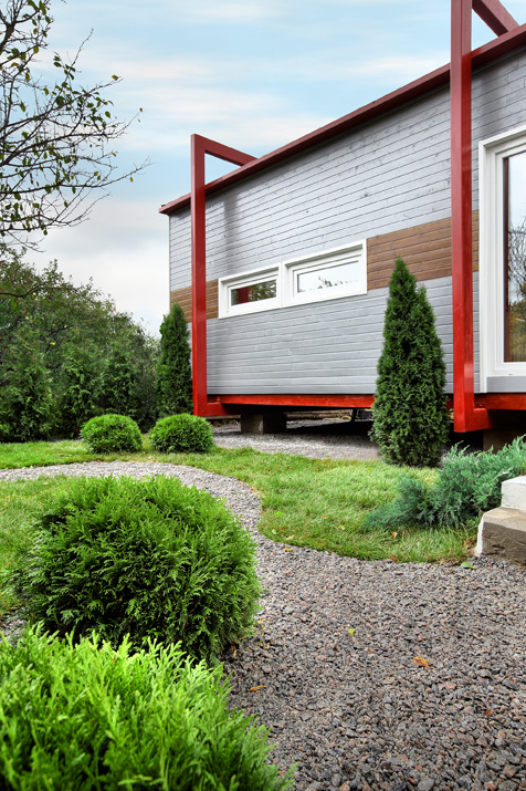 Загородный дом. дорожка из проекта , фото №12104