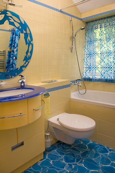 Фото № 11732 ванная  Загородный дом