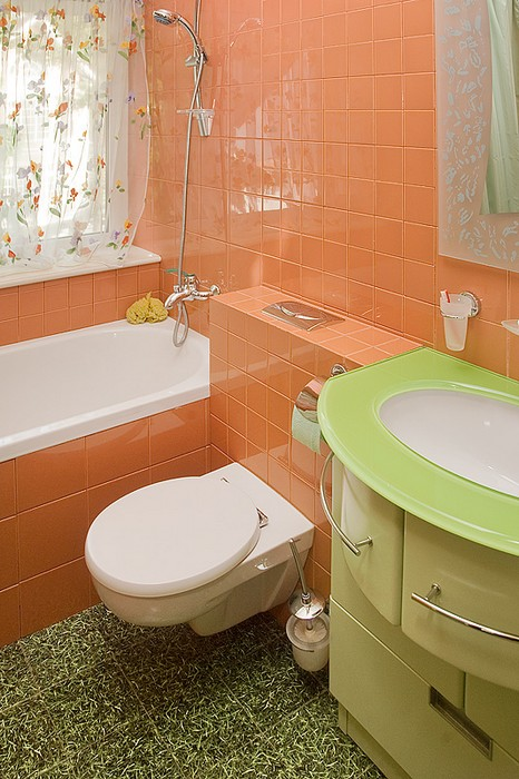 Фото № 11733 ванная  Загородный дом