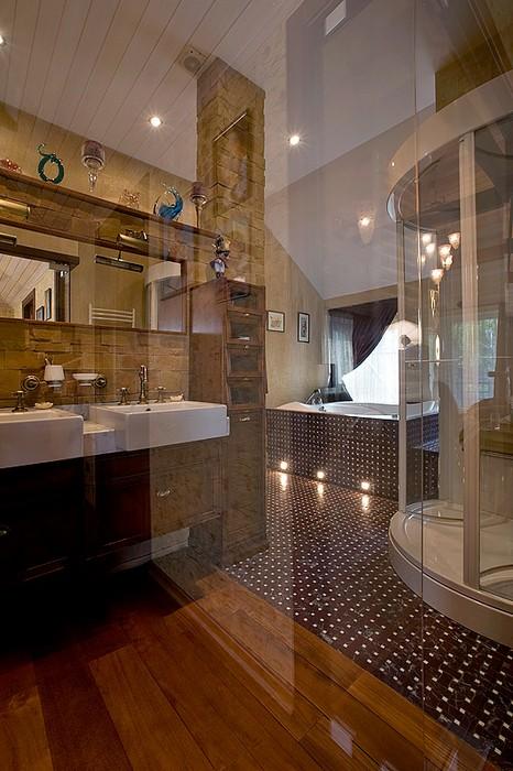 Фото № 11740 ванная  Загородный дом