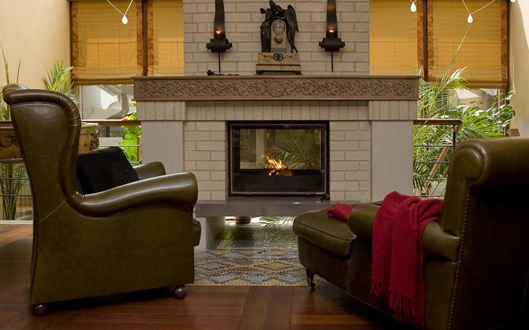 Фото № 11765 гостиная  Загородный дом