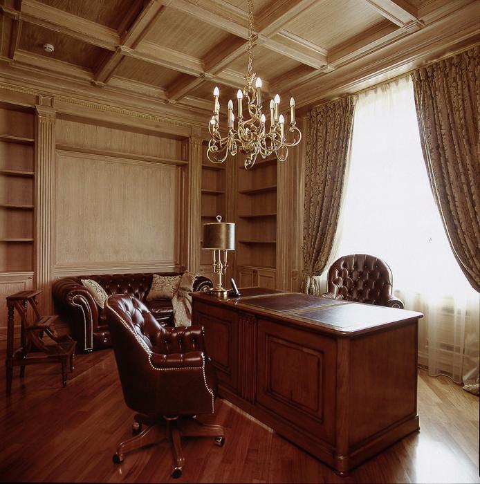 интерьер кабинета - фото № 10949