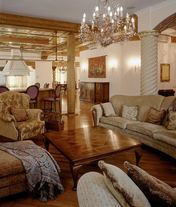 интерьер гостиной - фото № 10934