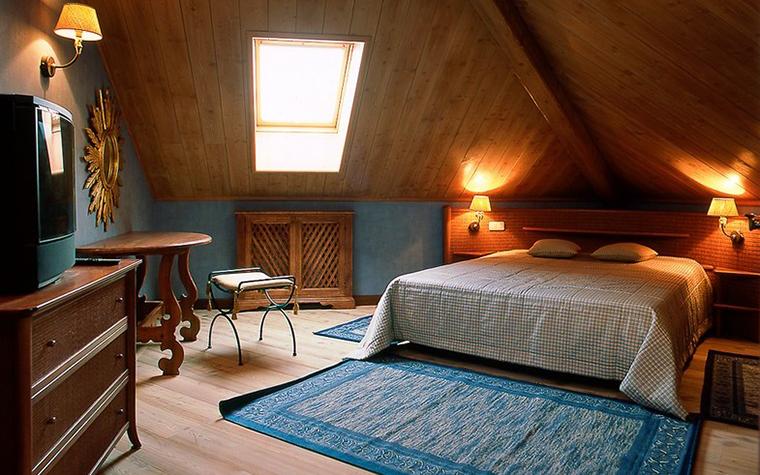 Загородный дом. спальня из проекта , фото №10939