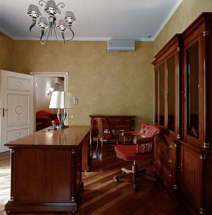 интерьер кабинета - фото № 10948