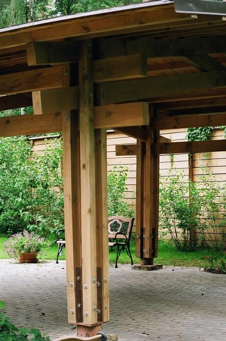 Загородный дом. гараж из проекта , фото №11097