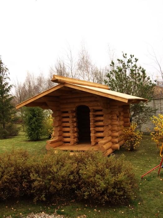 Загородный дом. детская площадка из проекта , фото №11139