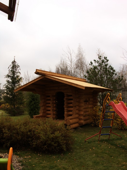 Загородный дом. детская площадка из проекта , фото №11148