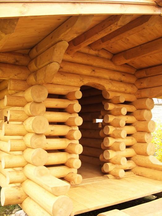 Загородный дом. детская площадка из проекта , фото №11152