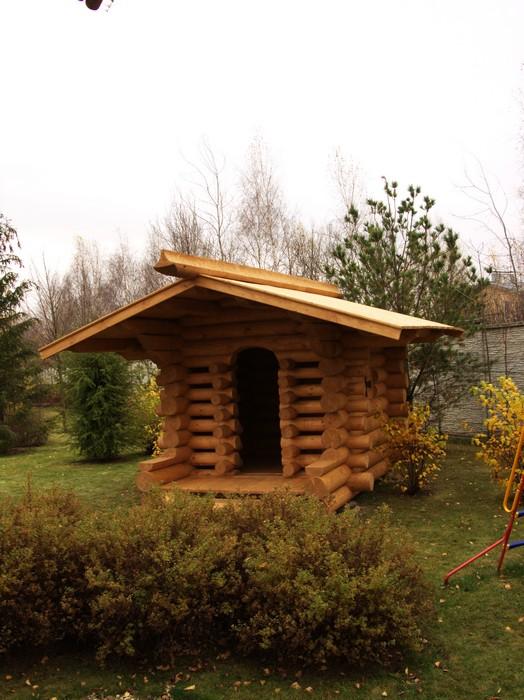 Загородный дом. детская площадка из проекта , фото №11155