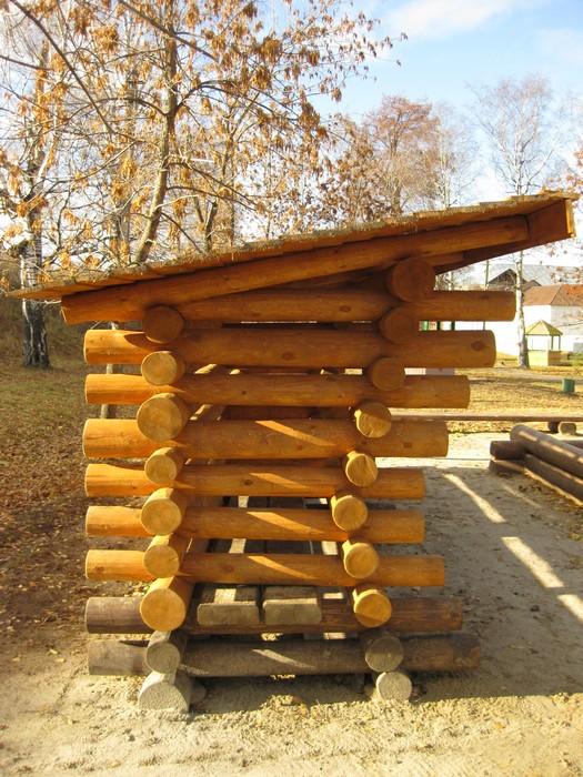 Фото № 11182 детская площадка  Загородный дом