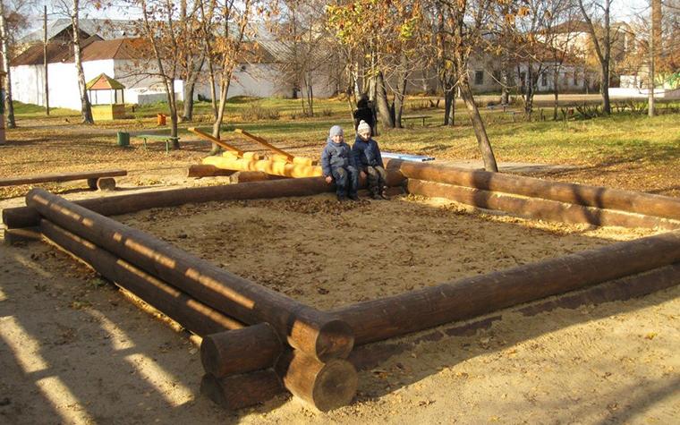 детская площадка - фото № 11183