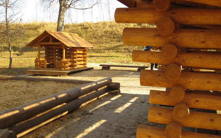 Фото № 11199 детская площадка  Загородный дом