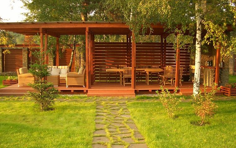 Загородный дом. барбекю  из проекта , фото №11202