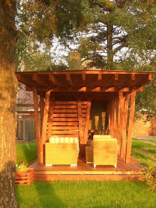 Загородный дом. барбекю  из проекта , фото №11203