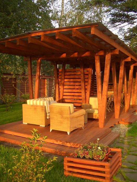 Загородный дом. барбекю  из проекта , фото №11205