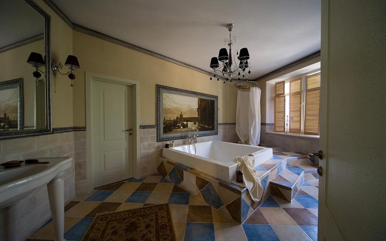 Фото № 11463 ванная  Загородный дом