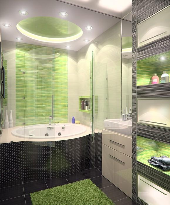 интерьер ванной - фото № 11563