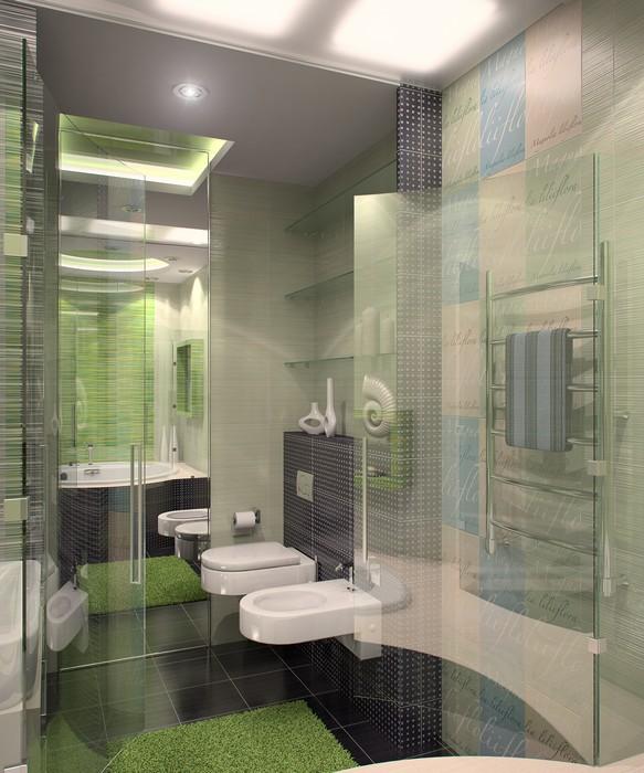 интерьер ванной - фото № 11564