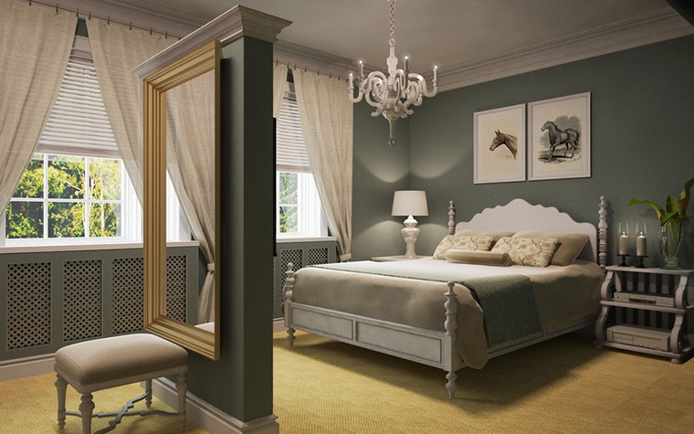 интерьер спальни - фото № 11585