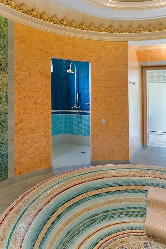 Загородный дом. баня сауна из проекта , фото №11881