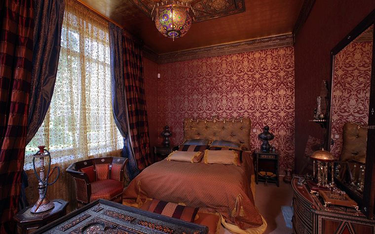 интерьер спальни - фото № 12027