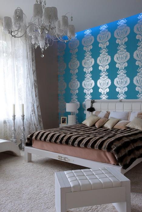 интерьер спальни - фото № 12026