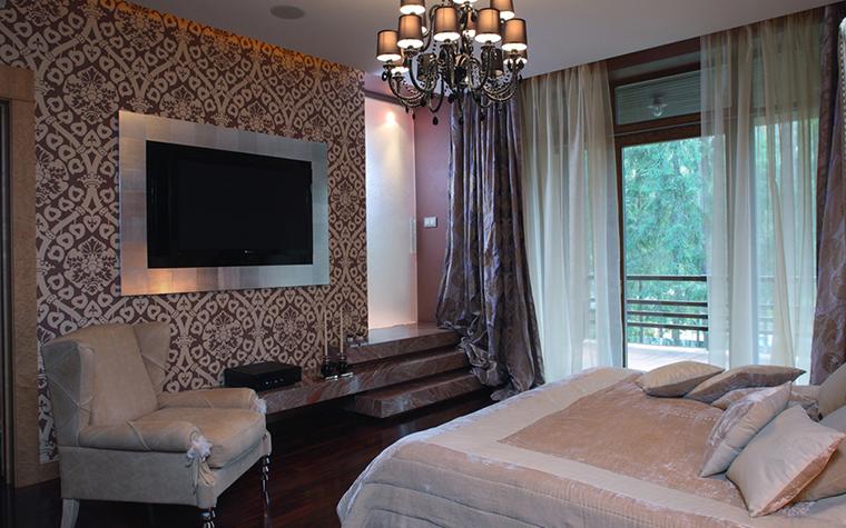 интерьер спальни - фото № 12031