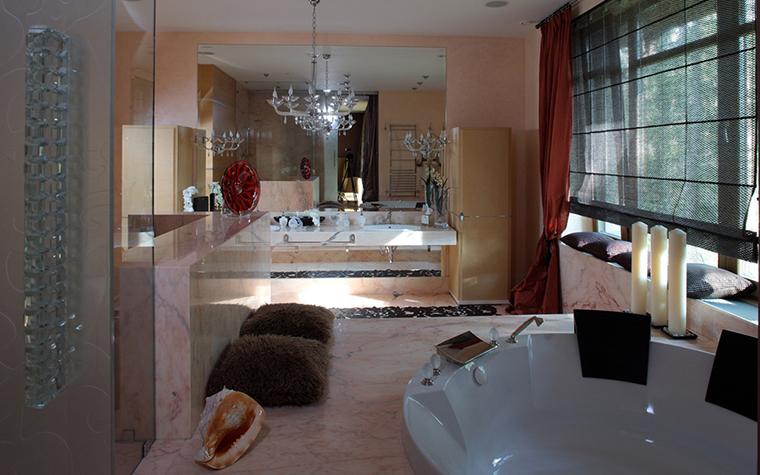 интерьер ванной - фото № 12037