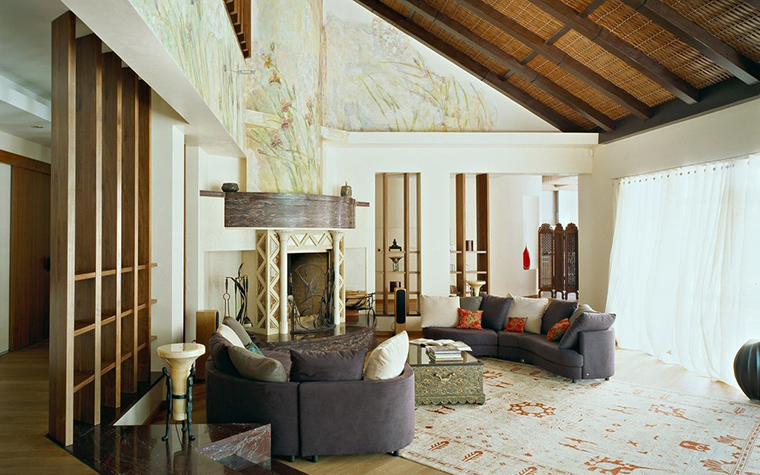 интерьер гостиной - фото № 12051