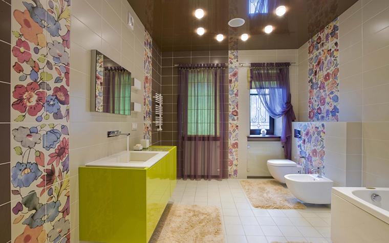 Загородный дом. ванная из проекта , фото №12158