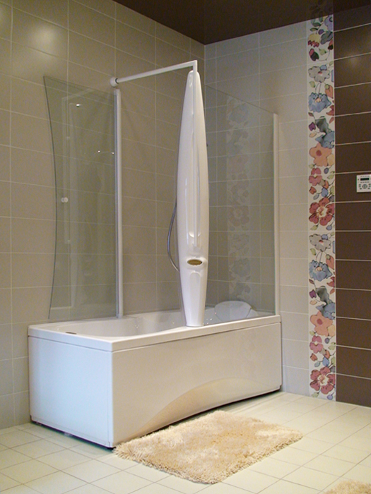 Загородный дом. ванная из проекта , фото №12159