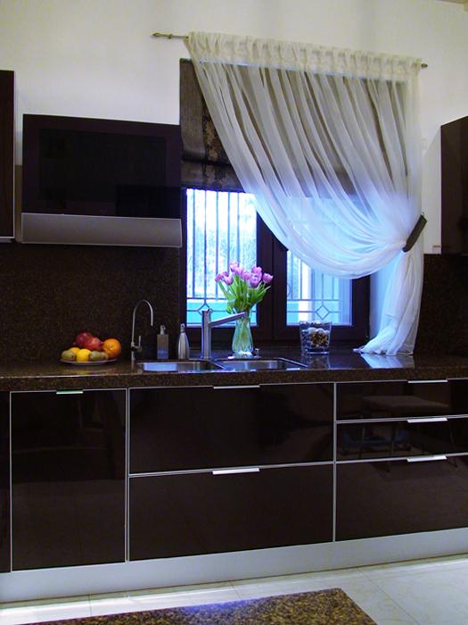 Фото № 12174 кухня  Загородный дом
