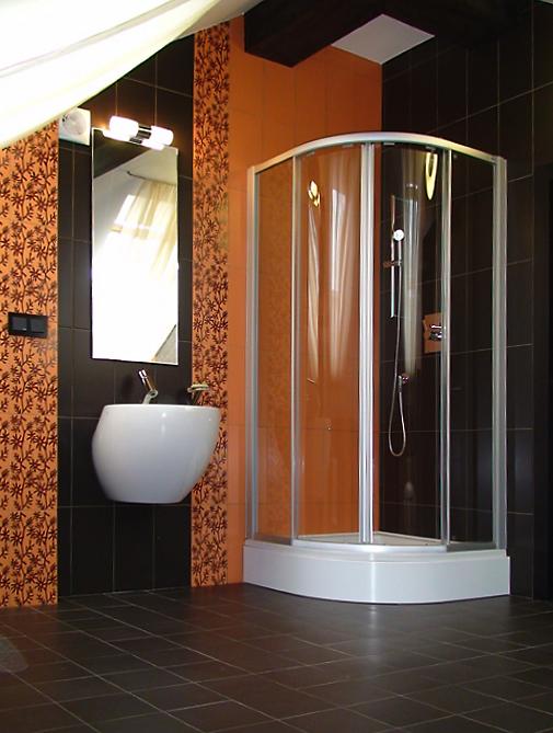 Загородный дом. ванная из проекта , фото №12160