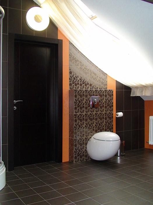 Загородный дом. ванная из проекта , фото №12162