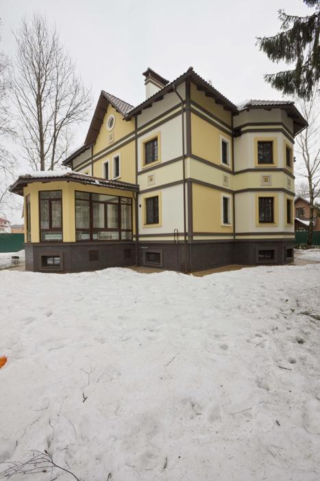 Загородный дом. фасад из проекта , фото №12179