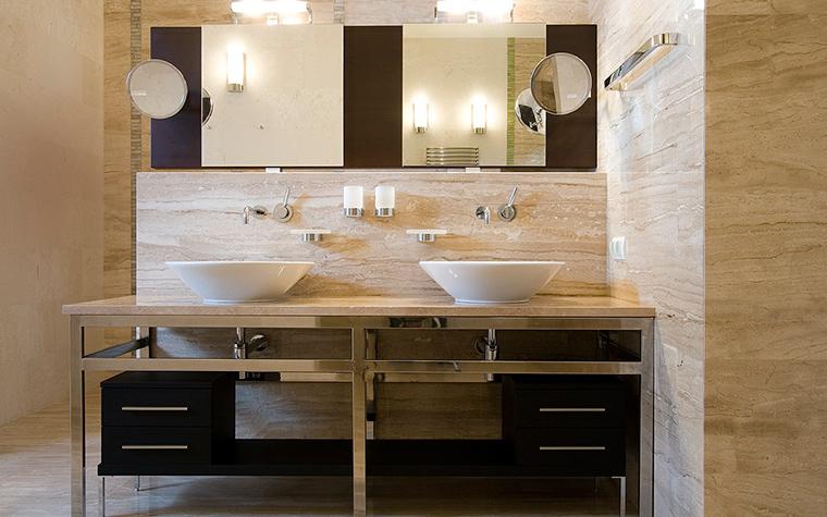 интерьер ванной - фото № 12237