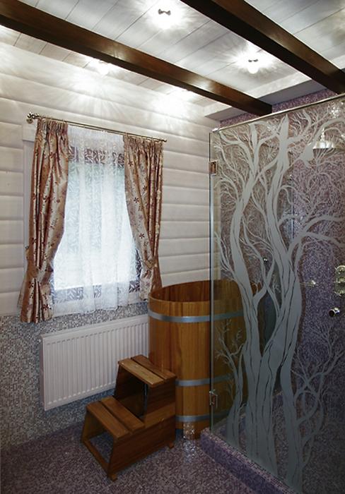 Загородный дом. ванная из проекта , фото №12323